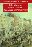 An Essay on the Principle of Population 0 9780192837479 0192837478