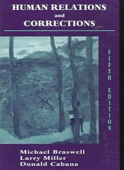 Human Relations and Corrections 5th edition 9781577664277 1577664272