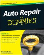 Auto Repair For Dummies 2nd edition 9780764599026 076459902X