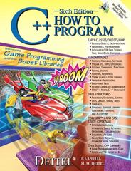 C++ How to Program 6th edition 9780136152507 0136152503