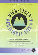 "High-Yieldâ""¢ Behavioral Science 2nd edition 9780781730846 0781730848"