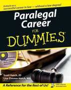 Paralegal Career For Dummies 1st edition 9780471799566 0471799564