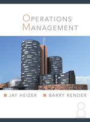 Operation Management/Jay Heizer, Barry Render 8th edition 9780131857551 013185755X