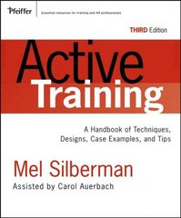 Active Training 3rd edition 9780787976231 0787976237