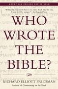 Who Wrote the Bible? 0 9780060630355 0060630353