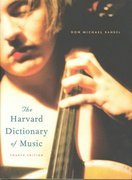 The Harvard Dictionary of Music 4th Edition 9780674011632 0674011635