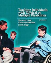 Teaching Individuals with Physical or Multiple Disabilities 5th edition 9780131121225 0131121227