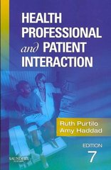 Health Professional and Patient Interaction 7th edition 9781416022442 1416022449