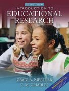 Introduction to Educational Research 6th edition 9780205510009 0205510000
