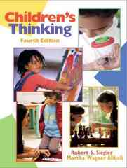 Children's Thinking 4th edition 9780131113848 0131113844
