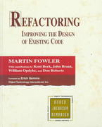 Refactoring 1st Edition 9780201485677 0201485672