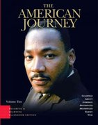 The American Journey, TLC Edition 4th edition 9780131992498 013199249X