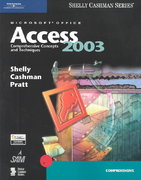 Microsoft Office Access 2003: Comprehensive Concepts and Techniques 1st edition 9780619200404 0619200405