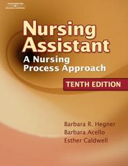 Nursing Assistant 10th edition 9781418066062 1418066060