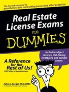 Real Estate License Exams For Dummies 1st edition 9780764576232 0764576232