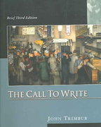 The Call to Write 3rd edition 9780321203052 0321203054