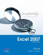Microsoft Office Excel 2007 Comprehensive 1st edition 9780131574656 0131574655