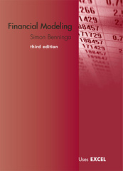 Financial Modeling 3rd edition 9780262026284 0262026287