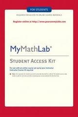MyMathLab -- Standalone Access Card 4th edition 9780321199911 032119991X