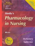Mosby's Pharmacology in Nursing - Revised & Updated 21st edition 9780323018227 032301822X