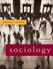 Sociology 10th edition 9780495093442 0495093440