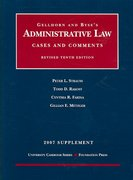 Administrative Law, Cases and Comments, Revised 10th Edition, 2007 Supplement 10th edition 9781599413297 1599413299
