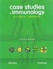 Case Studies in Immunology 5th edition 9780815341451 0815341458