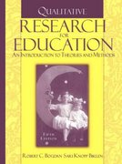 Qualitative Research for Education 5th Edition 9780205482931 0205482937