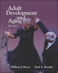 Adult Development & Aging 5th Edition 9780697362025 0697362027