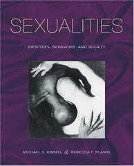 Sexualities 1st edition 9780195157604 0195157605