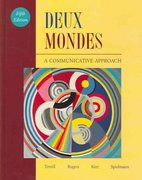Deux Mondes 5th edition 9780072876598 007287659X
