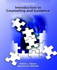 Introduction to Counseling and Guidance 7th edition 9780131738218 0131738216