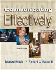 Communicating Effectively 8th edition 9780073193397 0073193399