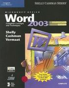 Microsoft Office Word 2003: Complete Concepts and Techniques, CourseCard Edition 2nd edition 9781418843564 1418843563