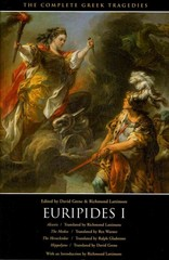 The Complete Greek Tragedies: Euripides I 2nd Edition 9780226307800 0226307808