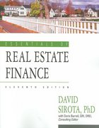 Essentials of Real Estate Finance 11th edition 9781419520914 1419520911