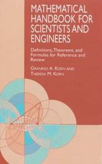 Mathematical Handbook for Scientists and Engineers 2nd edition 9780486411477 0486411478