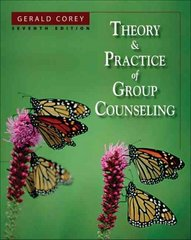 Theory and Practice of Group Counseling 7th edition 9780534641740 0534641741