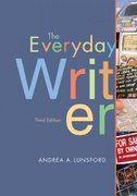 The Everyday Writer 3rd edition 9780312413286 0312413289