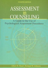 Assessment in Counseling 4th Edition 9781556202612 155620261X
