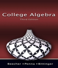College Algebra 3rd Edition 9780321466075 0321466071
