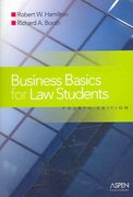 Business Basics Law Students 4th edition 9780735557444 0735557446