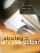 Strategic Analysis and Action 6th Edition 9780131278226 0131278223