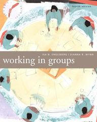 Working in Groups 4th edition 9780205554874 0205554873