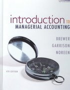 Introduction to Managerial Accounting with Connect Plus 4th edition 9780073379357 0073379352