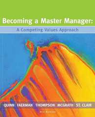 Becoming a Master Manager 4th edition 9780470050774 0470050772