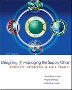 Designing and Managing the Supply Chain 3rd Edition 9780072982398 007298239X