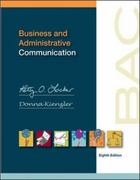 Business and Administrative Communication 8th edition 9780073525037 0073525030