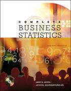 Complete Business Statistics with Student CD 6th edition 9780073126982 0073126985