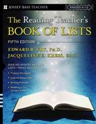 The Reading Teacher's Book Of Lists 5th Edition 9780787982577 0787982571